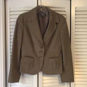 Ann Taylor Brown Jacket